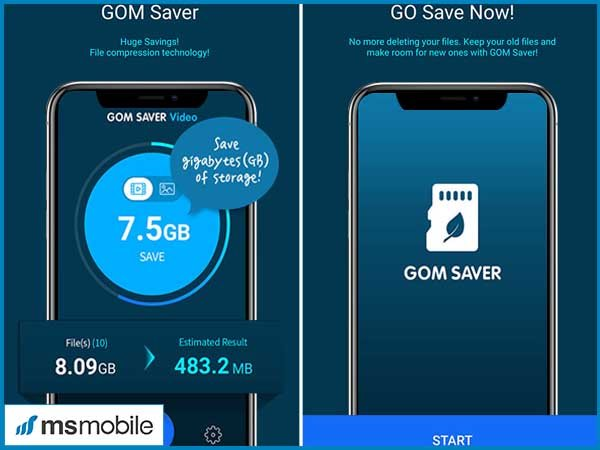 Đầu tiên, bạn cần phải tải ứng dụng GOM Saver