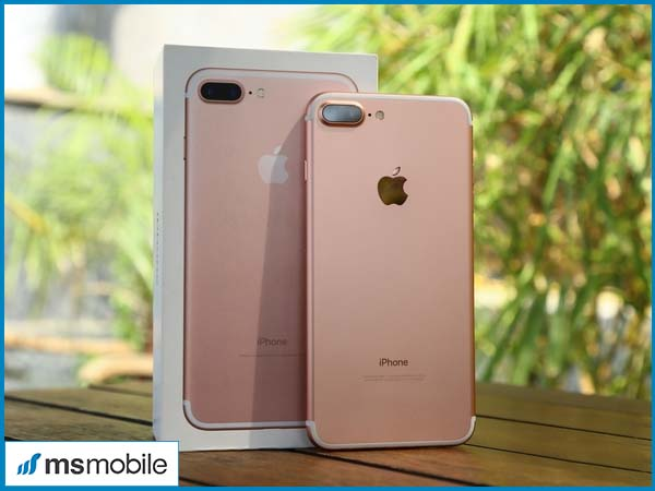 Cụm camera kép trên iPhone 7 Plus