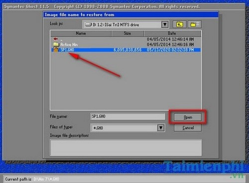 Hướng dẫn cách Ghost Win XP không cần đĩa CD, USB - Tin công nghệ