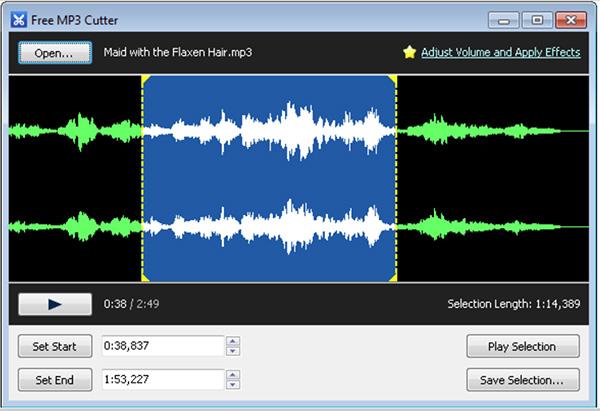 Free MP3 Cutter - Phần mềm cắt nhạc chuyên nghiệp - Tin công nghệ