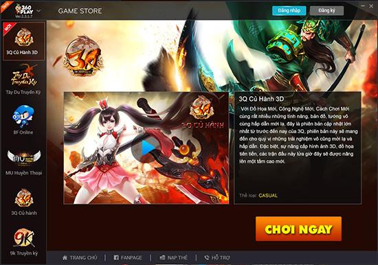 Các nhân vật trong game 3Q Củ Hành