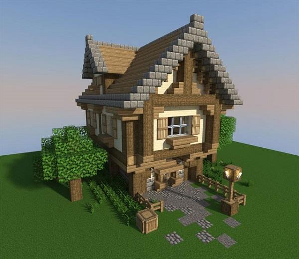 game minecraft xây nhà