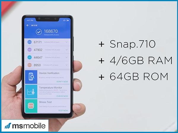 Cấu hình trên Xiaomi Mi 8 SE