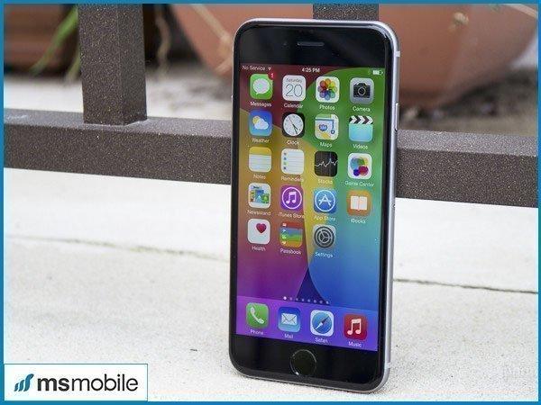 Thiết kế trên iPhone 6s cũ tại Ms Mobile