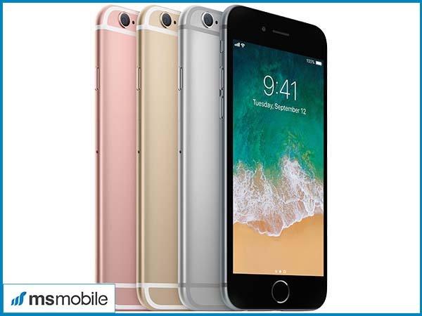 Đánh giá iPhone 6S cũ về màu sắc.