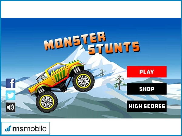 Game Monster Stunts