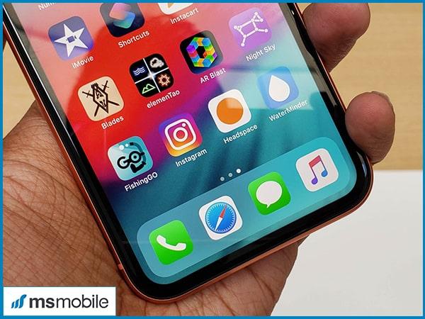 Màn hình trên iPhone Xr