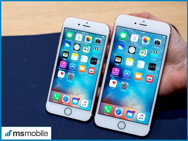 Thiết kế iPhone 6S so với iPhone 6 Plus
