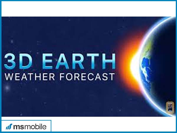 3D Earth - weather widget