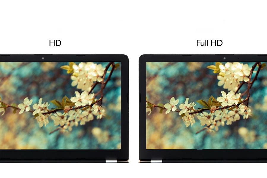 Đánh giá độ sắc nét và dải màu của 2 mức độ phân dải