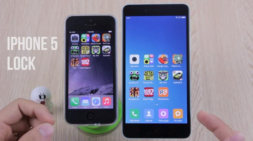Trong tầm giá 3 triệu nên mua điện thoại cũ nào: iPhone 5 Lock hay Xiaomi  Note 2?