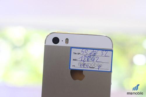 Đèn Flash kép chất lượng của iPhone 5s Lock