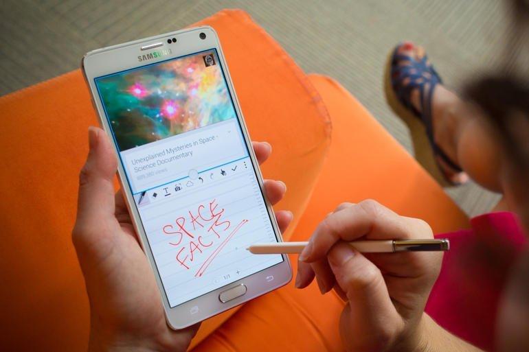 Samsung Galaxy Note 4 cũ tại Msmobile